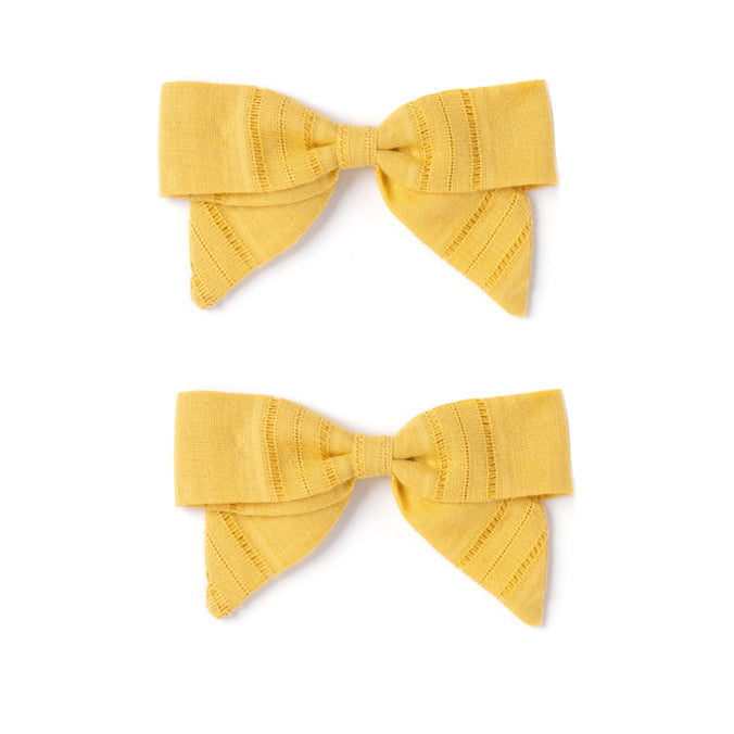 Botany Bow Set, Mustard