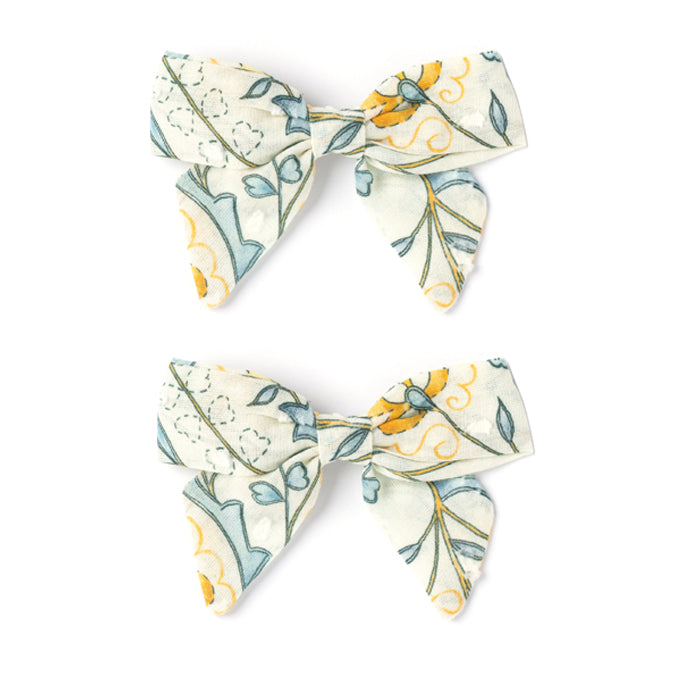 Botany Bow Set, Mustard Wallpaper