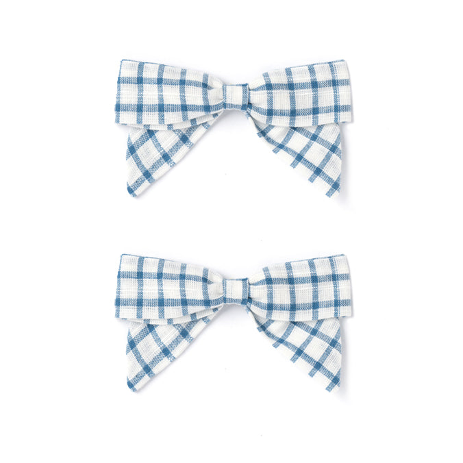 Botany Bow Set, White Chex