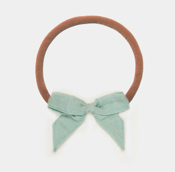 Bow Headband - Mint