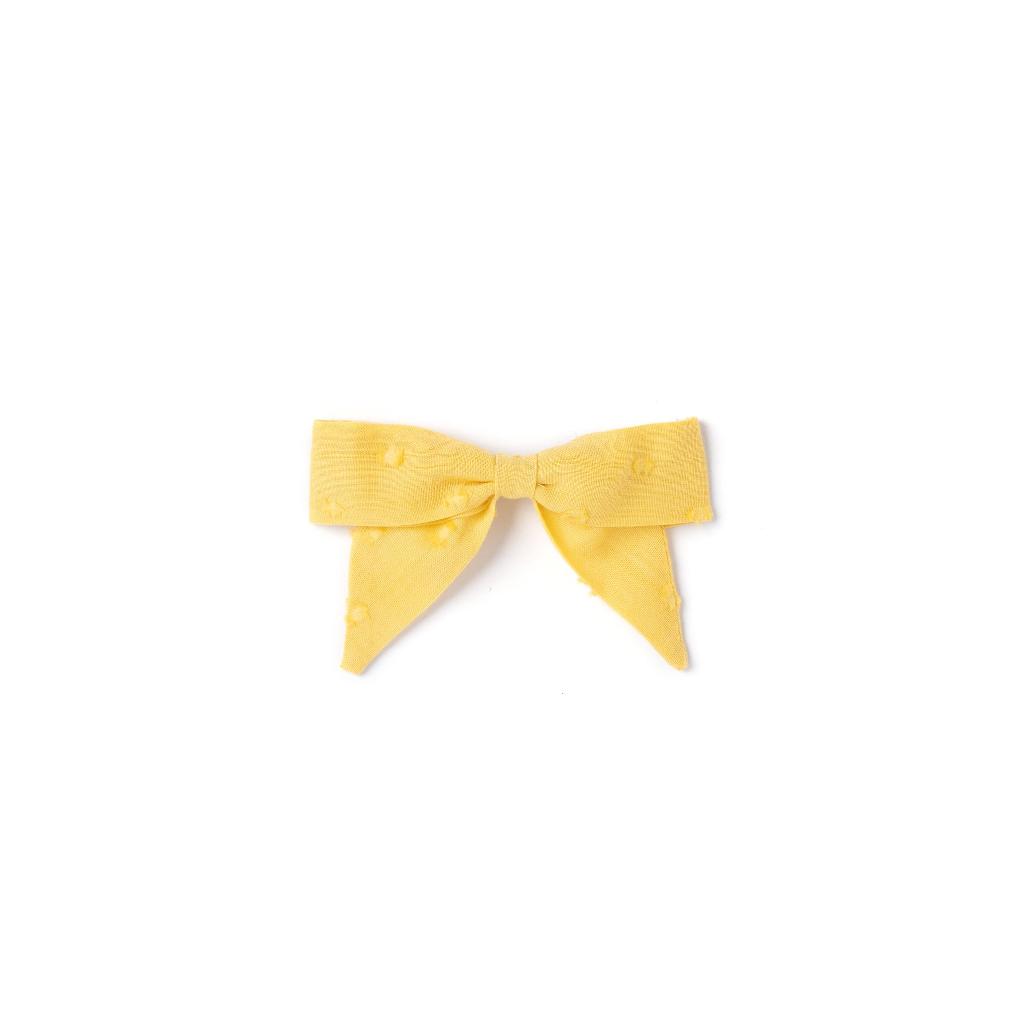 Botany Bow, Mustard Swiss Dot