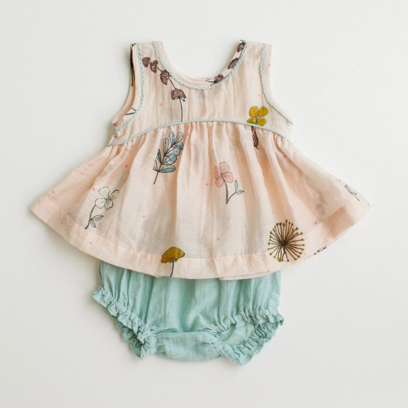 Baby Ari Set - Pressed Flowers