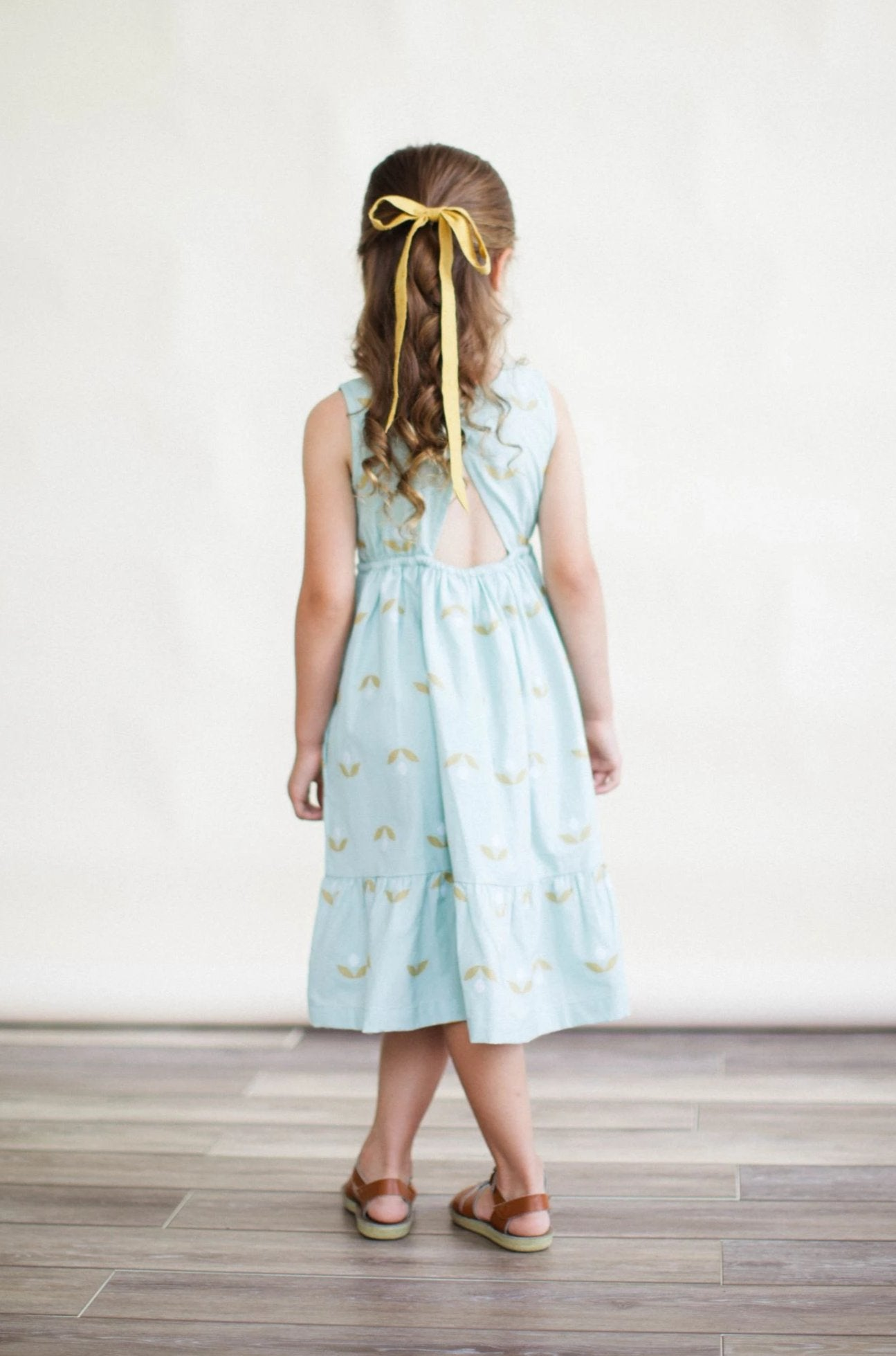 Chloe Dress - Minty Jambdani