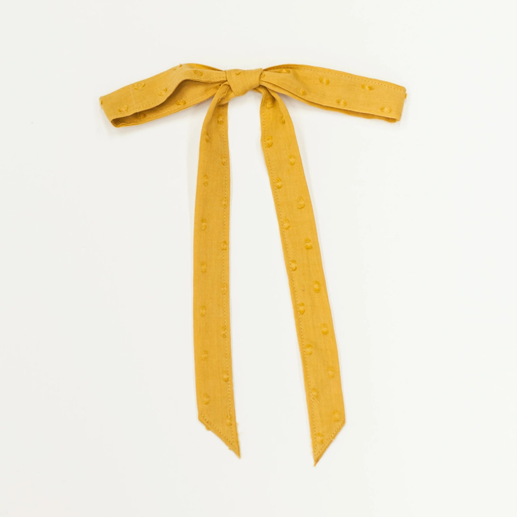 Ribbon Bow - Mustard