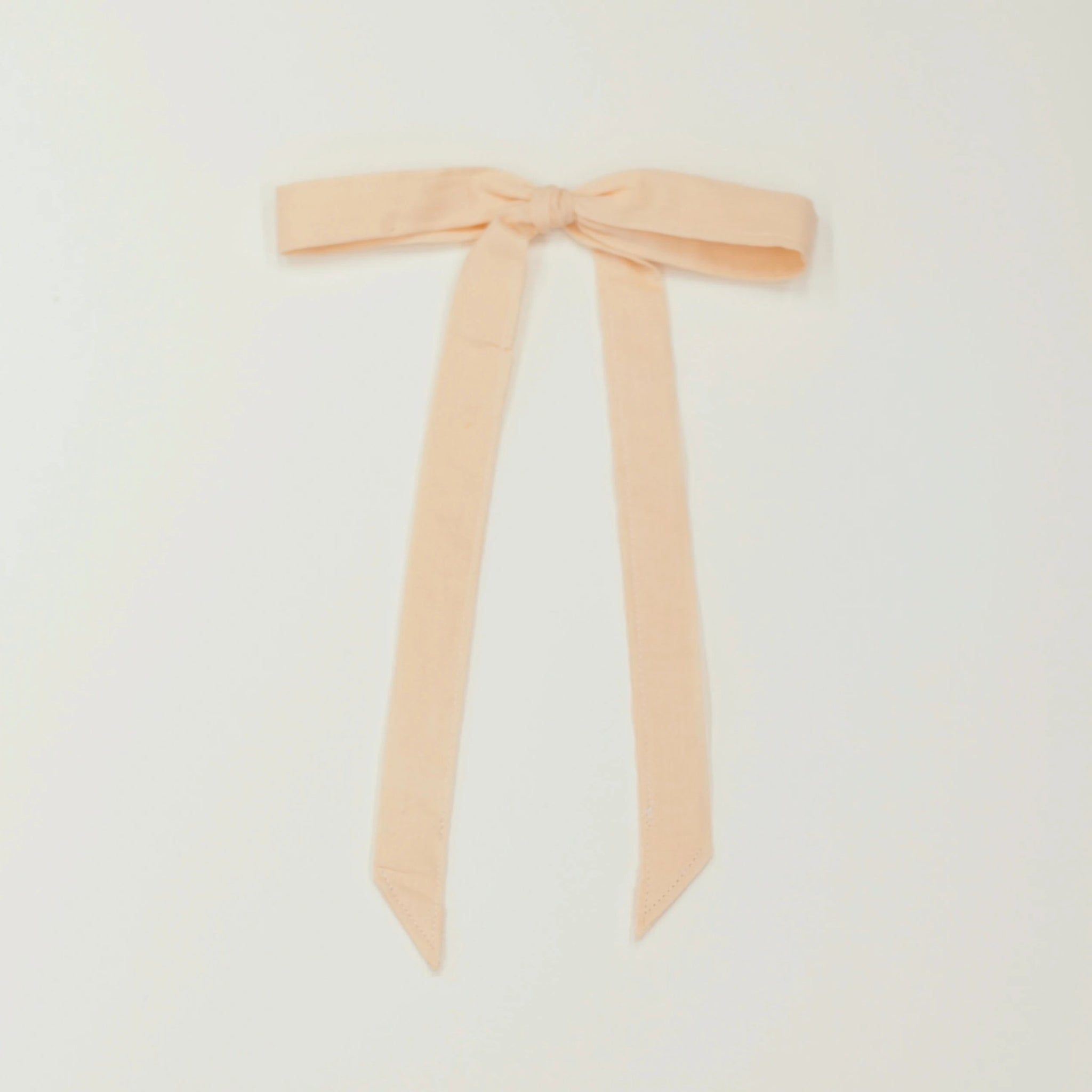 Ribbon Bow - Peach