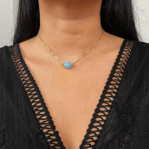 Zodiac Sphere Pisces Aquamarine by Stoneriver PH