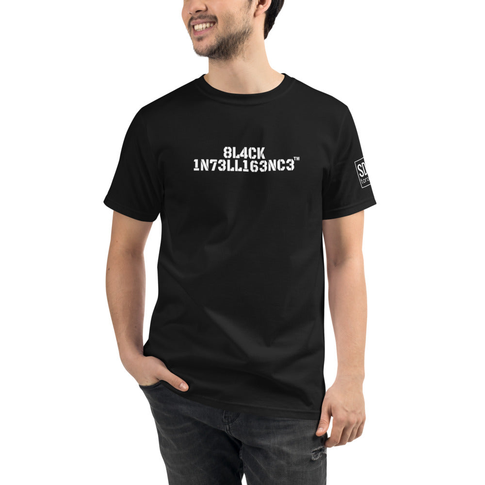 Black Intelligence | Organic T-Shirt