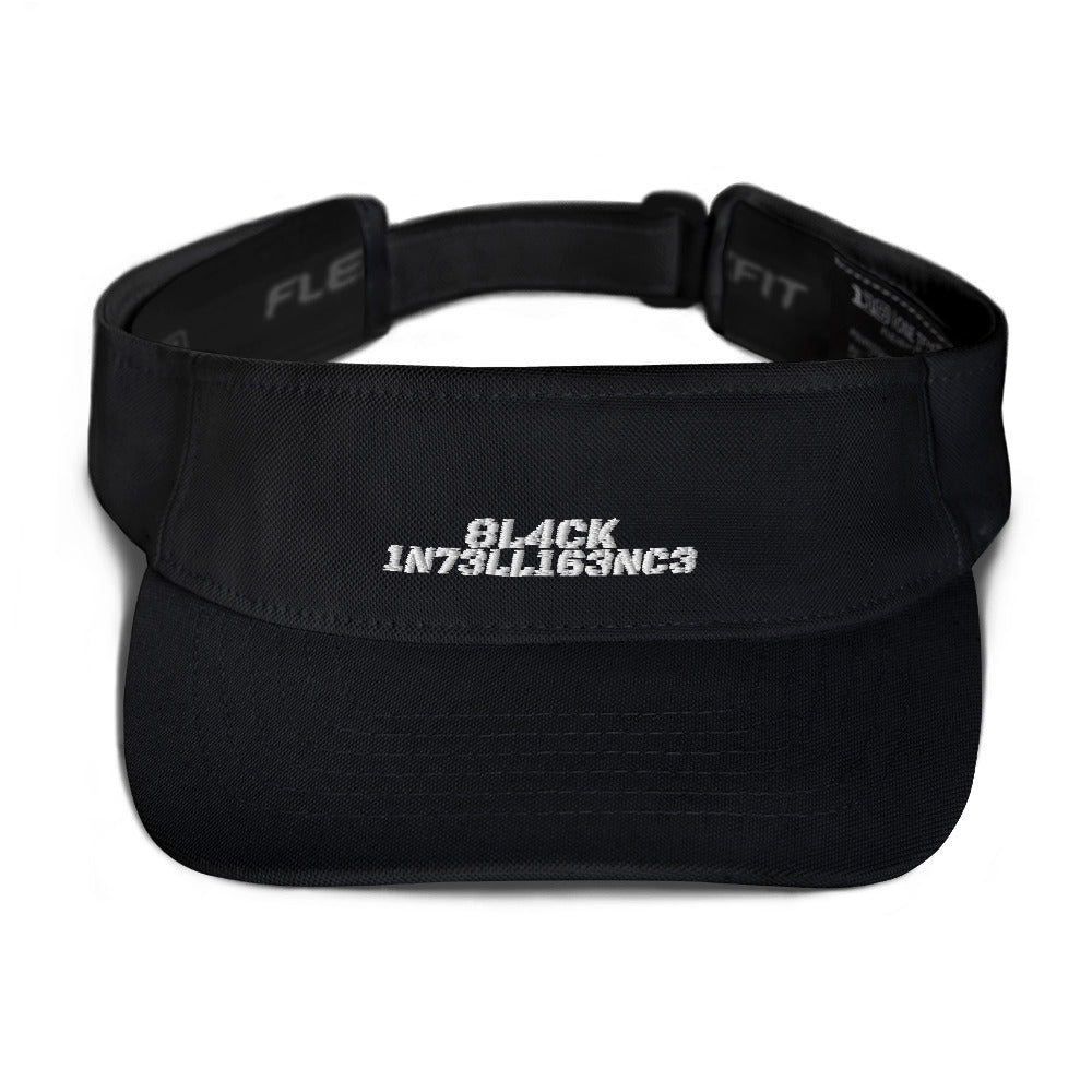 Black Intelligence - Visor/hat