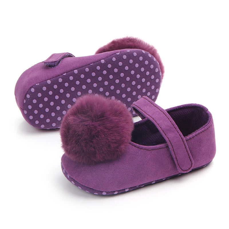 Pompom Soft Sole Shoes