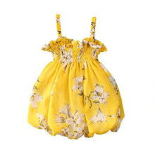Load image into Gallery viewer, Floral Chiffon Bubble Dress
