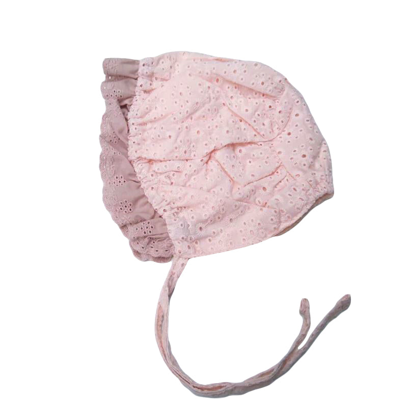 Lace Baby Bonnet Hat