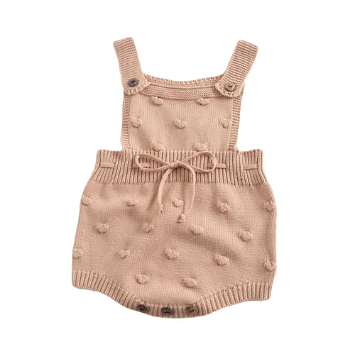 Baby Bubble Knit Coverall Romper