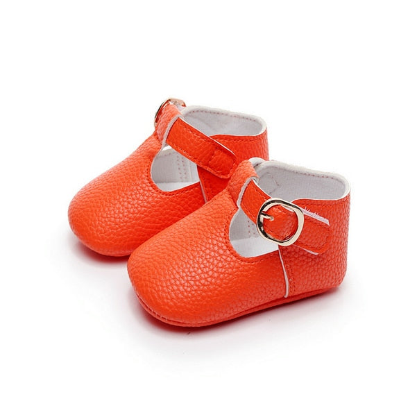 Leather Mary Jane Baby Shoes
