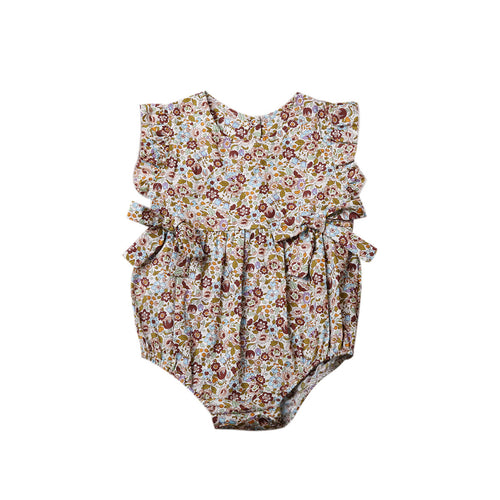Twice Bow Baby Romper