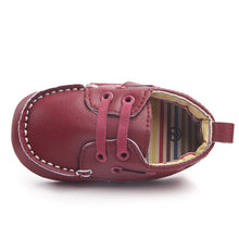 Load image into Gallery viewer, Leather Strap Moccasin Baby Shoes