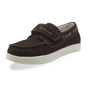 Leather Moccasin Casual Loafers