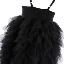 Load image into Gallery viewer, Black Swan Tutu Dress
