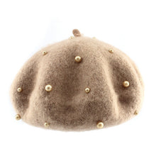 Load image into Gallery viewer, Pearl Wool Beret