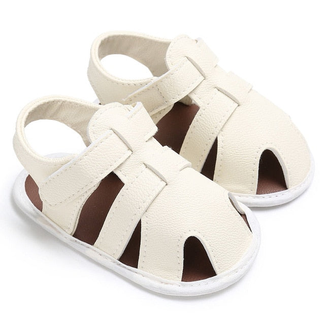 Leather Baby Sandals - Soft Sole