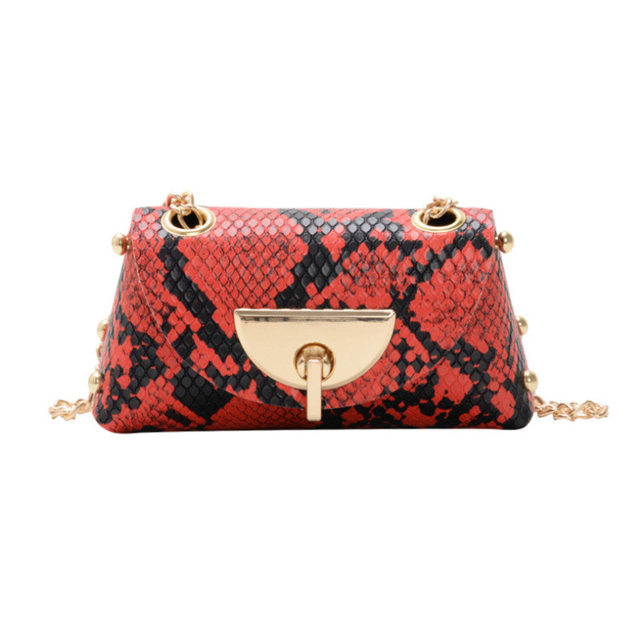 Mini Snake Skin Shoulder Bag
