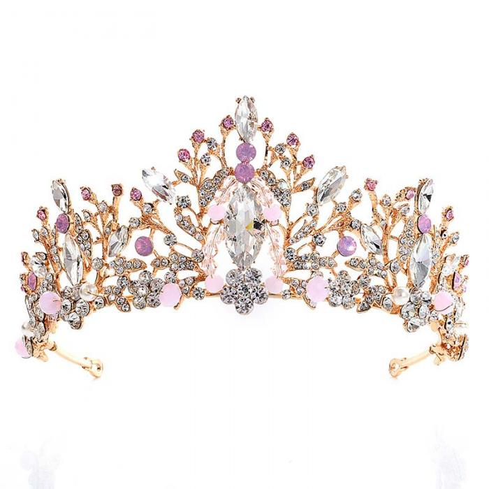 Crystal Rhinestone Crown