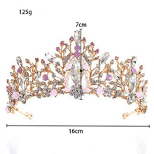 Load image into Gallery viewer, Crystal Rhinestone Crown