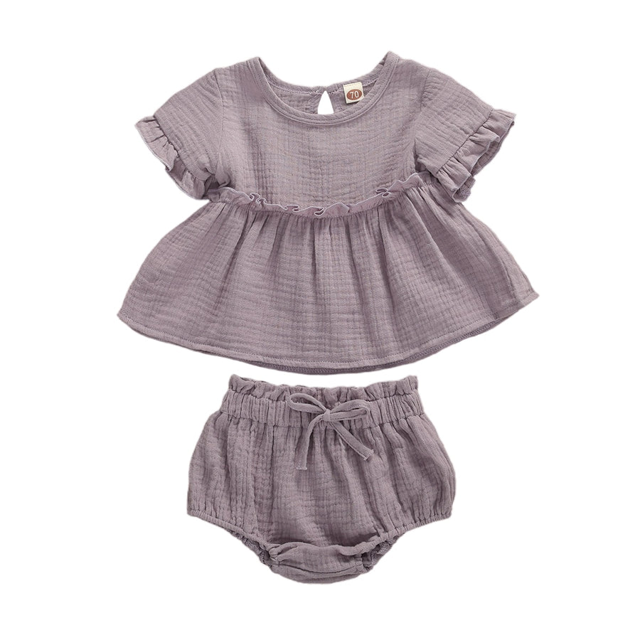 2PC Ruffle Top and Bloomers set