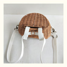 Load image into Gallery viewer, Rattan Backpack/Bicycle Basket