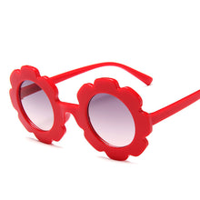 Load image into Gallery viewer, Kids Round Flower Sunglasses
