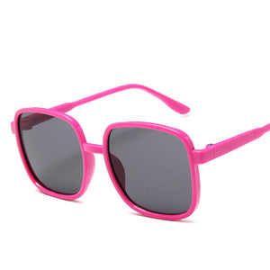 Kids Rounded Square Oversized Sunglasses