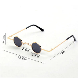Kids Vintage Small Round Sunglasses
