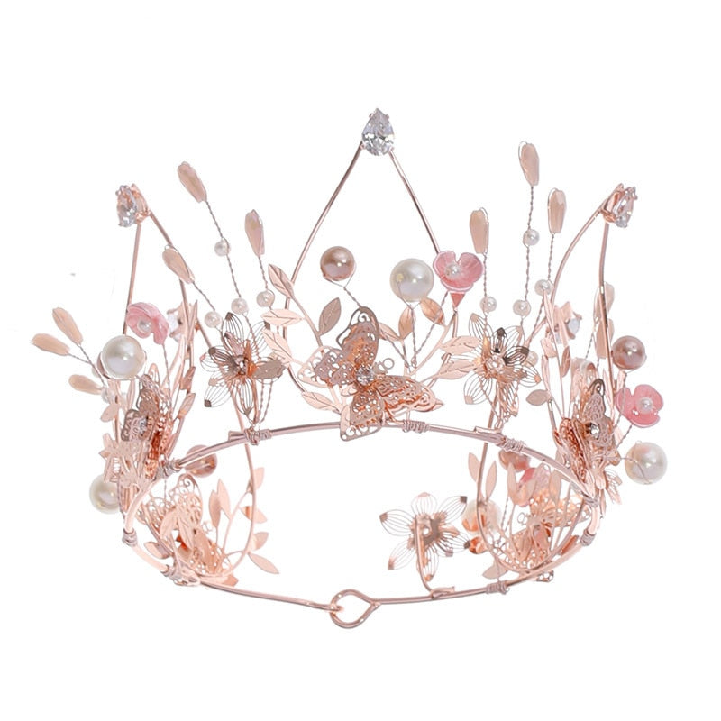 Aurelia Butterfly Crown