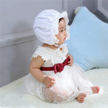 Load image into Gallery viewer, Lace Baby Bonnet Hat