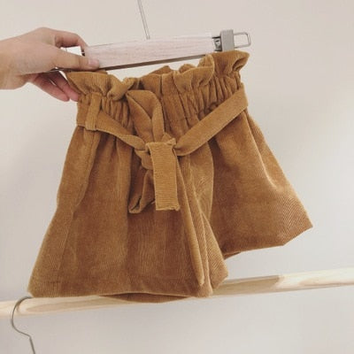 Wide High Waist Shorts