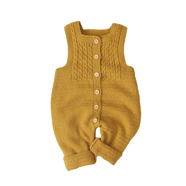 Baby Sleeveless Knitted Romper