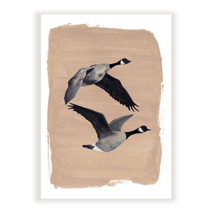 Open image in slideshow, 'Always & Forever Geese' Fine Art Print
