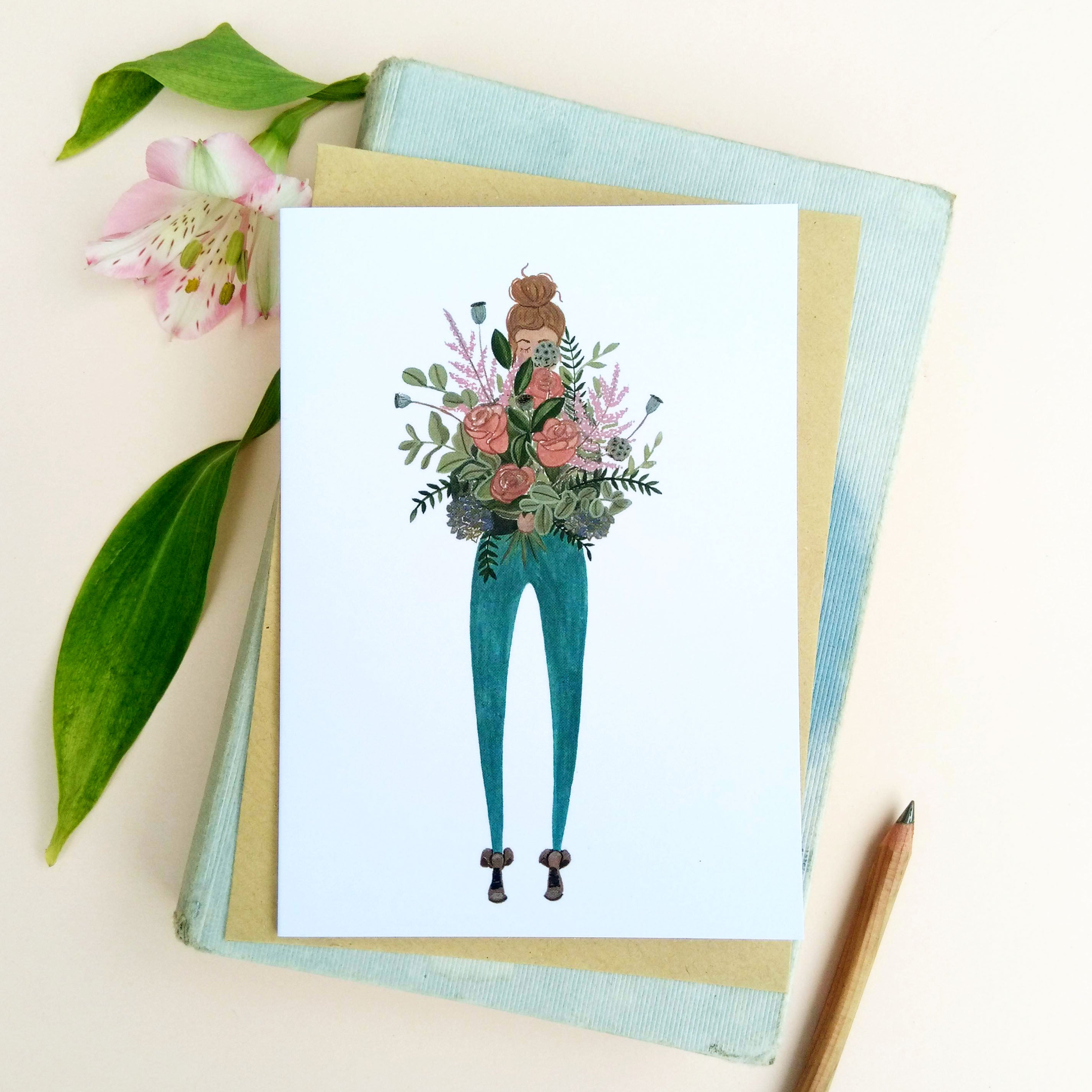 Bouquet All Occasions Card