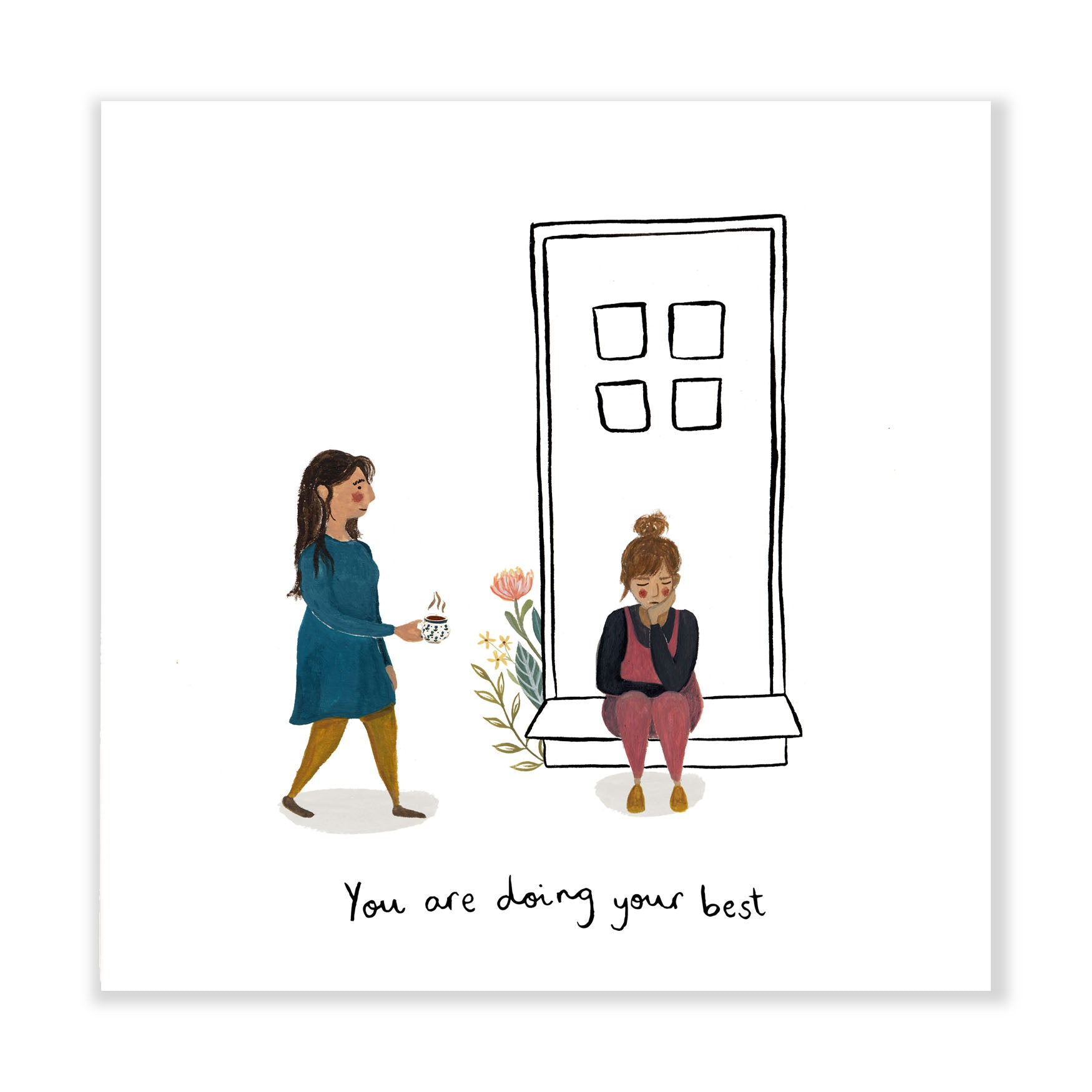 'Doing Your Best' Fine Art Print