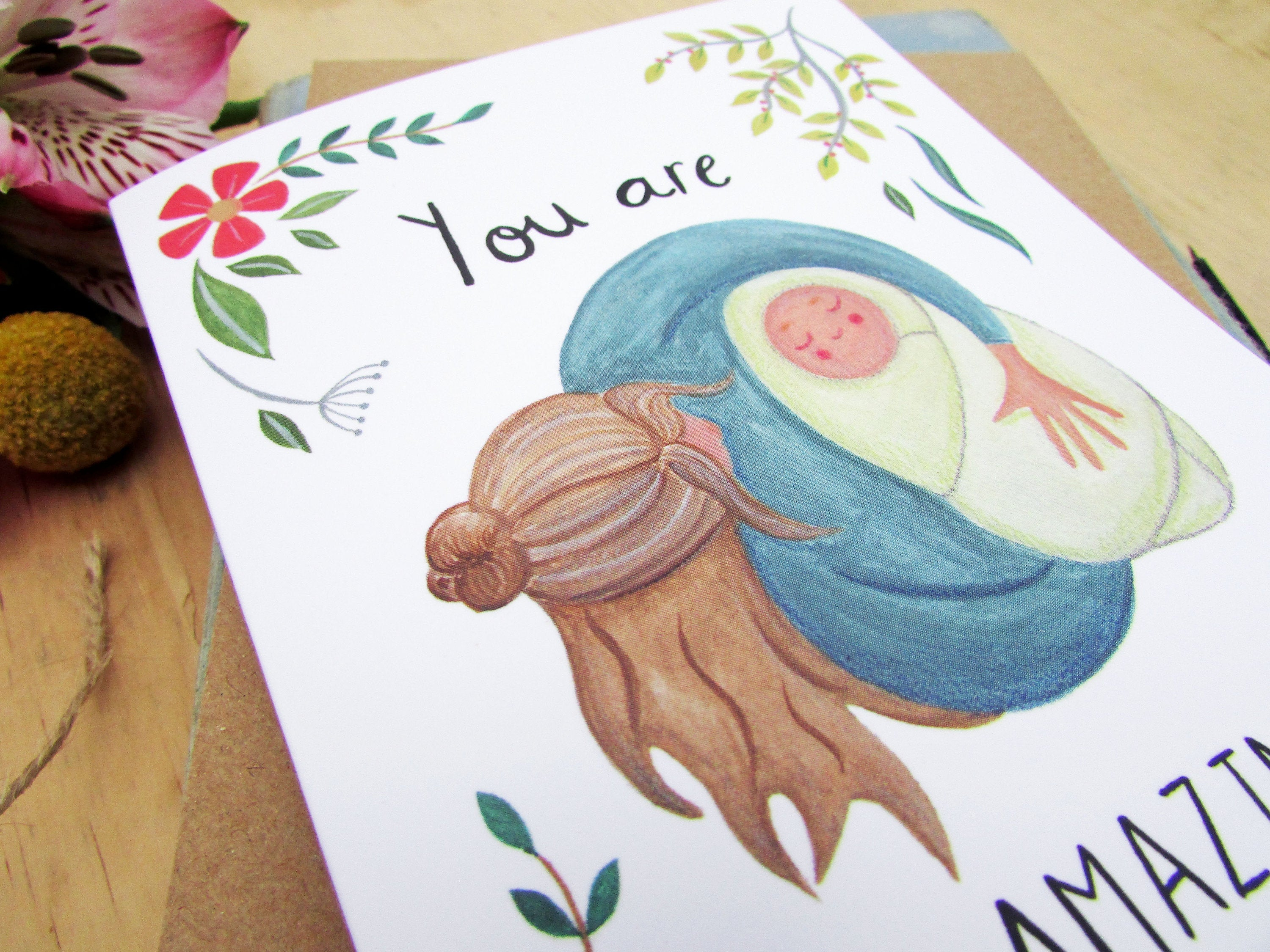'You Are Amazing' New Baby Card