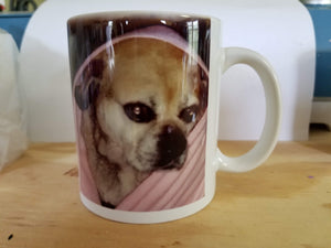 Photo mug (customer supplied photo)