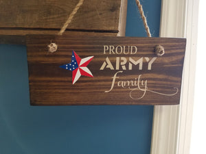 "Proud ""MILITARY BRANCH"" Family"