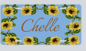 Personalized Decorative License Plates
