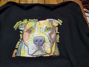Dean Russo's Psychedelic Pitbull - tee
