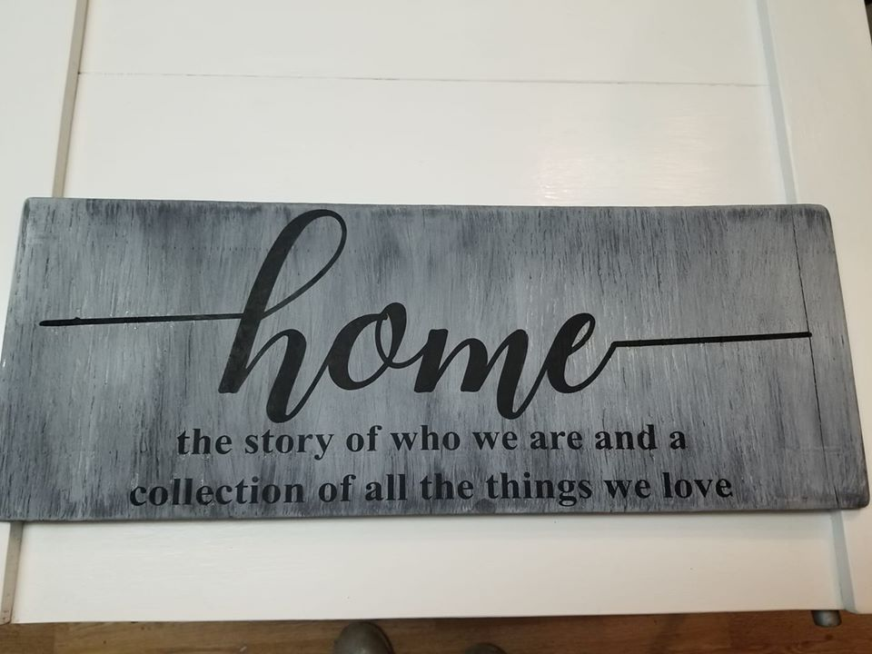 HOME: the story of who we are and a collection of the things we love