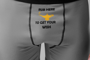 Rub Here to Get Your Wish