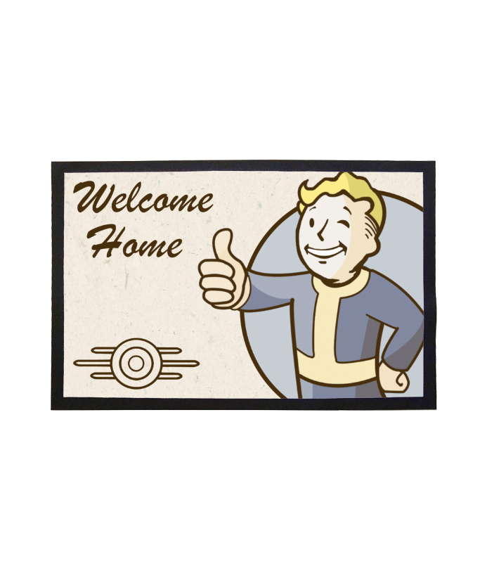 Fallout Boy Welcome Doormat