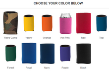 Load image into Gallery viewer, Custom Coozie - yellow