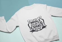 Load image into Gallery viewer, Inhale Courage - exhale Fear _graphic tee