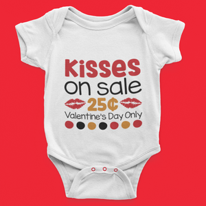 Kisses on Sale 25 cents - Valentine Day