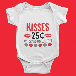 Kisses 25 cents - saving for college